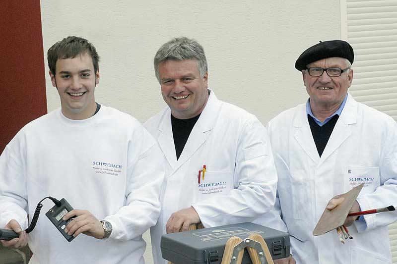 Lukas, Heiner und Hans Schwebach