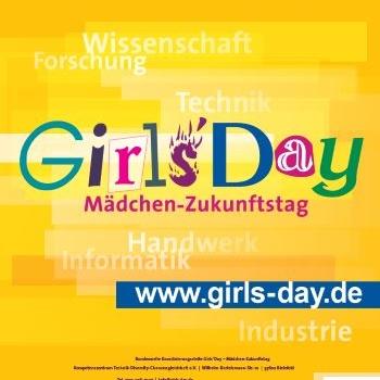 Es ist wieder so weit – der Girls'Day 2015 kann kommen