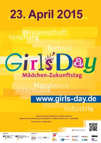 Girls'Day - der Mädchen-Zukunftstag 2015