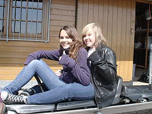 Das war der Girls'Day für Mandy und Christine