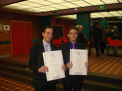 Verleihung des Meisterbriefes an Sascha Kron