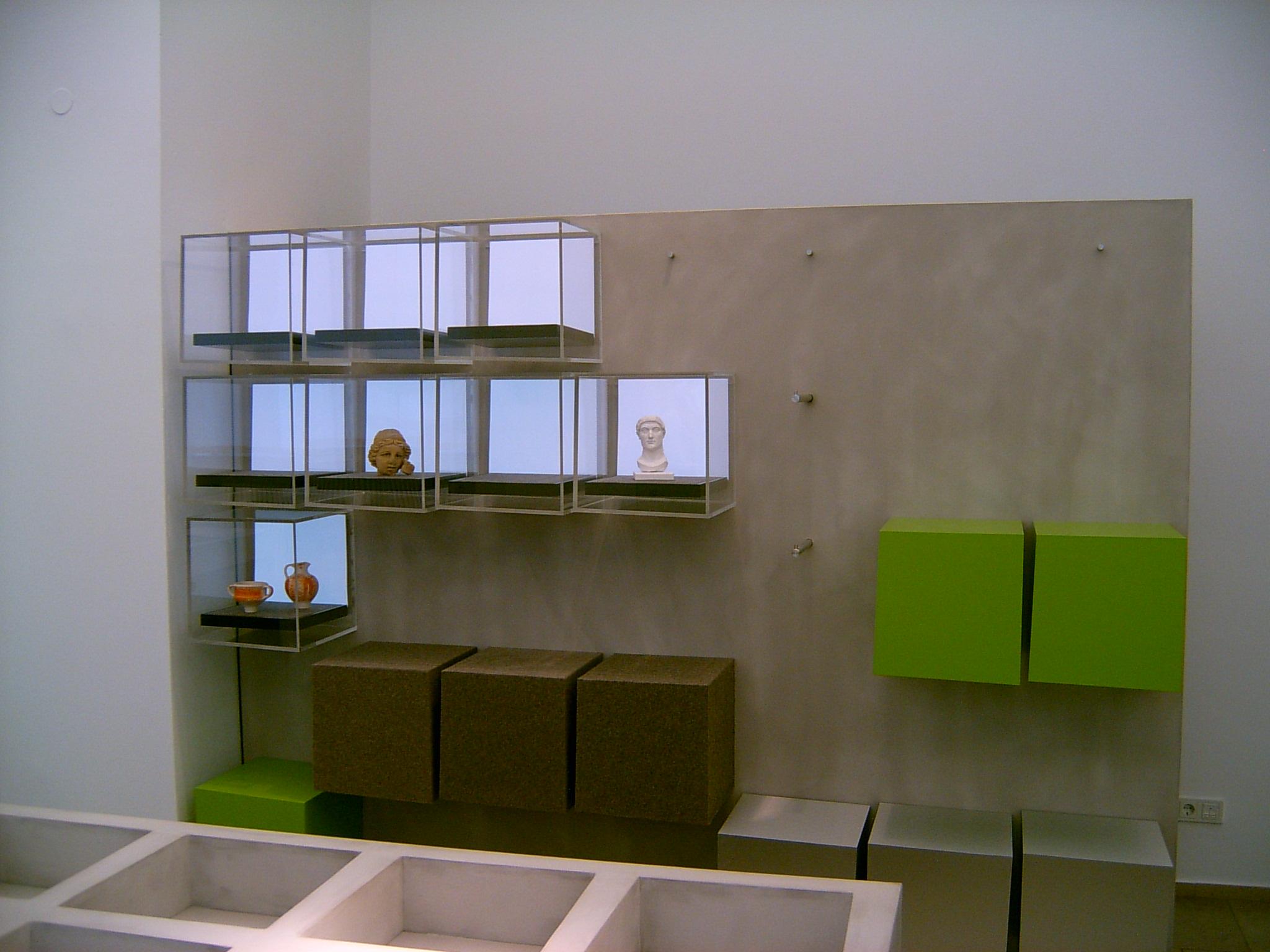 Exponate der Konstantin-Ausstellung