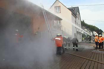 Feuerwehreinsatz an unserem Firmengebäude St. Lukas