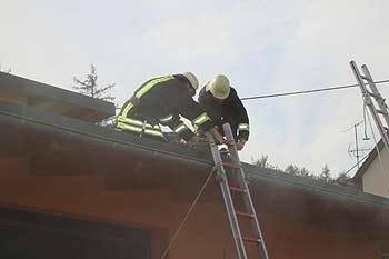 Feuerwehreinsatz bei St. Lukas