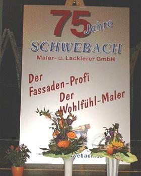 75 Jahre Schwebach Maler und Lackierer