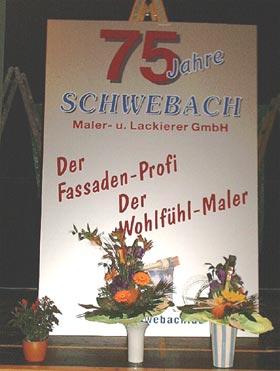 Jubiläumsfeier 75 Jahre Schwebach