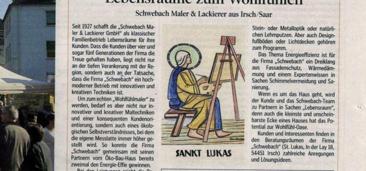 Presseartikel im Luxemburger Wort