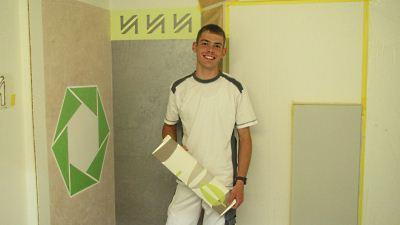 Doppelte Freude – Dominik und Oliver sind nun Malergesellen