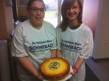 Der 10. Girls'Day bei SCHWEBACH