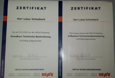 Zertifikat von Heylo
