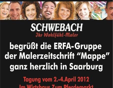 Erfa-Treffen bei SCHWEBACH