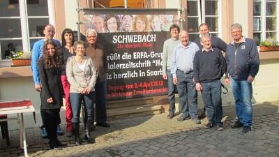 Rückblick ERFA-Treffen 2012 in Saarburg