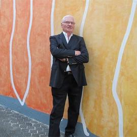 Hans Schwebach im Interview über eine Wand, die ihn nun glücklich macht