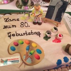 80 Jahre Hans Schwebach