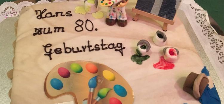 80ter Geburtstag Hans Schwebach