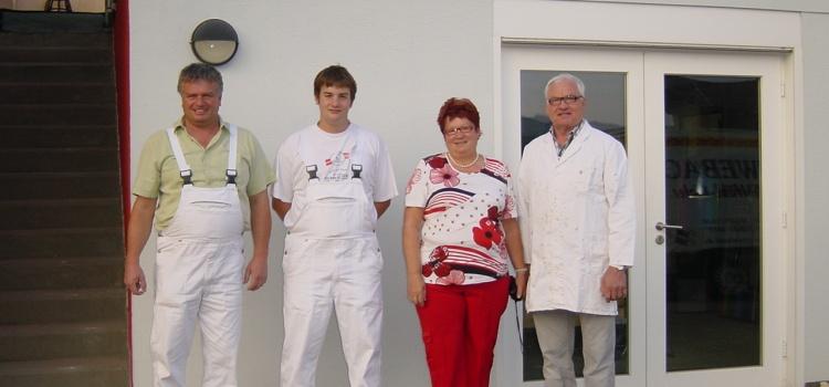Lukas Schwebach beginnt Ausbildung im Schwebach-Team