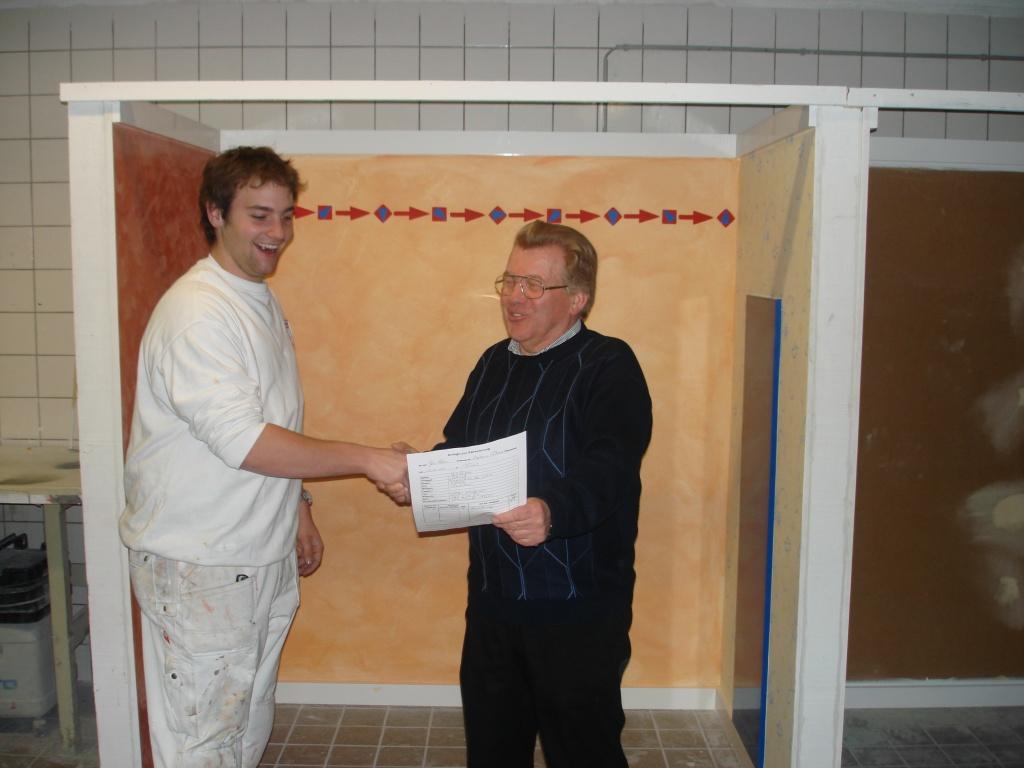 Gesellenprüfung Lukas Schwebach