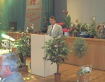 Gerhard Seidel zum 75. Firmenjubiläum