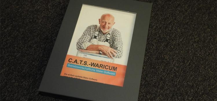Die Firmensoftware C.A.T.S.-WARICUM speziell für Malerbetriebe