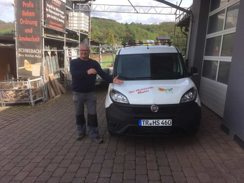 Heiner Schwebach präsentiert den neuen Fiat Doblo