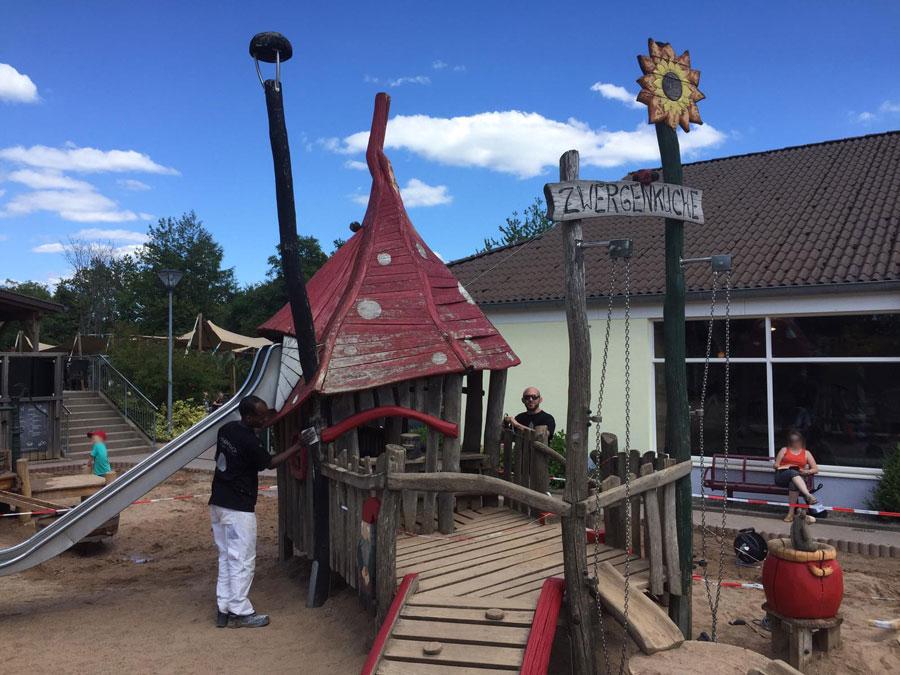 Kinderspielplatz Saarburg